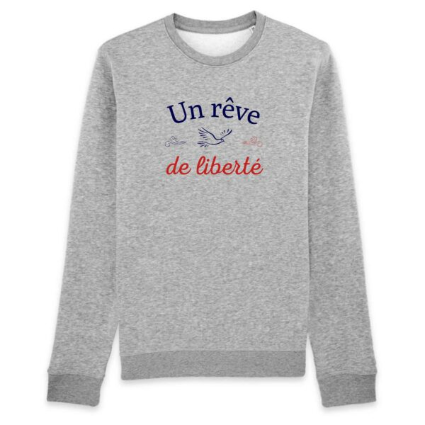Sweatshirt Un rêve de liberté - BIO