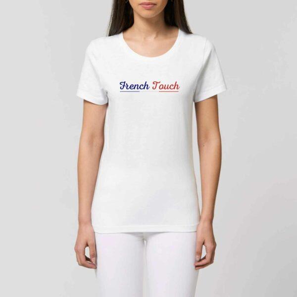 T-shirt femme French Touch porté