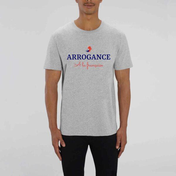 T-shirt Arrogance à la Française BIO - porté